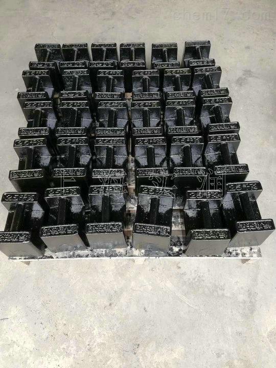 25kg铸铁标准砝码
