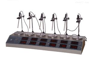 HJ-6A数显多头磁力搅拌器
