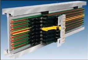 HXPnR- Ω-100多极铜排板式滑线