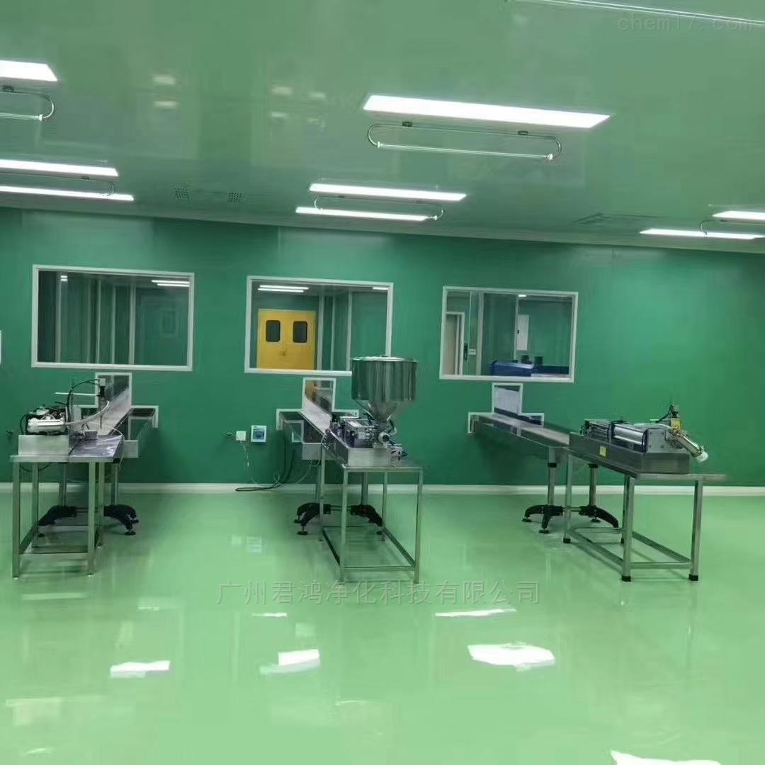 广东珠海牛奶饮料食品车间无菌室净化工程