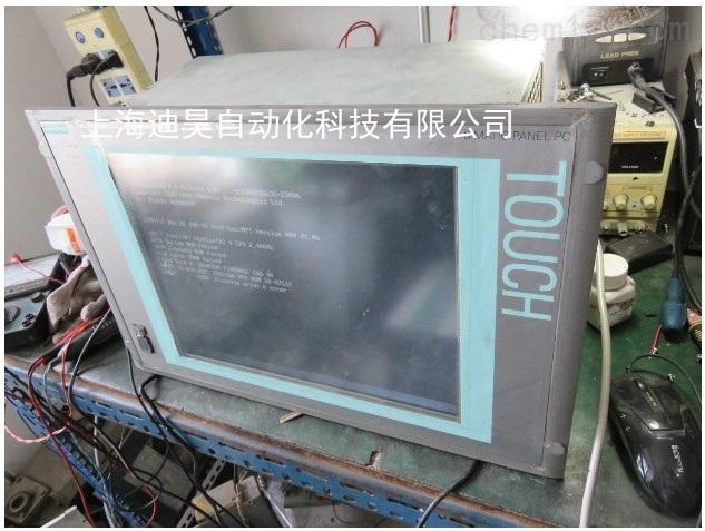 西门子加工中心PCU50无法进入操作界面维修