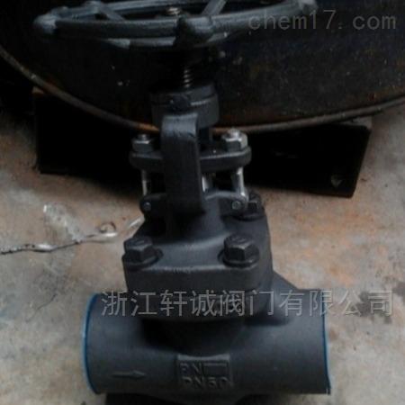 轩诚  J41TC陶瓷截止阀  锻钢截止阀作用