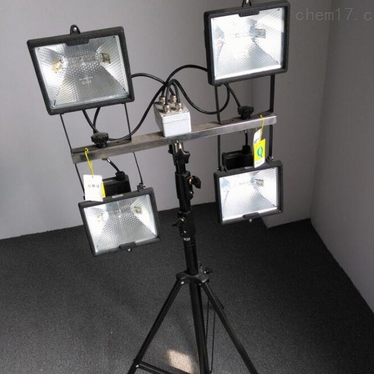 CBY6092A手动升降三角架灯头施工作业移动灯