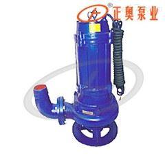 上海正奥QW型无堵塞排污泵 铸铁潜水泵