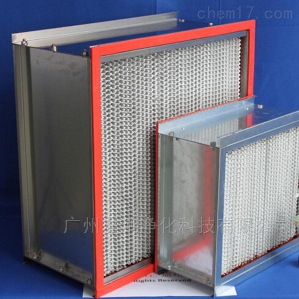 广元市耐高温高效过滤器结构紧凑 不易变形