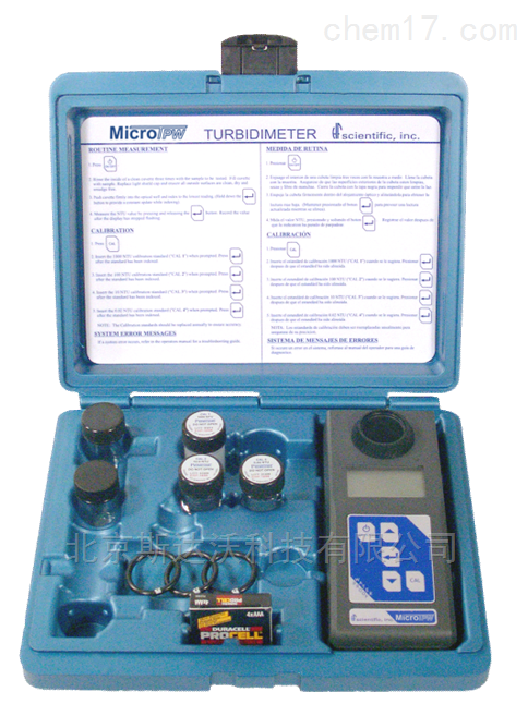 HF MicroTPW / MicroTPI便携式浊度分析仪