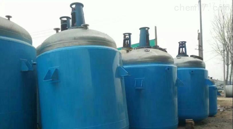 反应釜各种型号回收二手化工乳化罐
