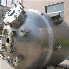 二手2立方不锈钢高压反应釜长期供应