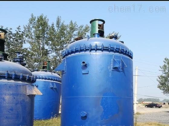 回收低价出售二手化工设备搪瓷反应釜