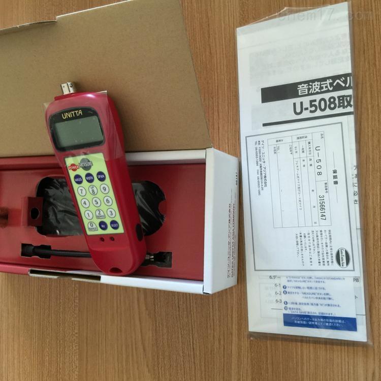 现货日本UNITTA音波式皮带张力计原装正品
