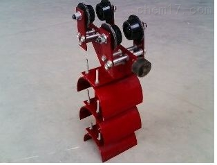 HC-10镀锌工字钢电缆滑车厂家