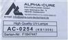 ALPHA-CURE 紫外线灯管 KB1306(AC0254)