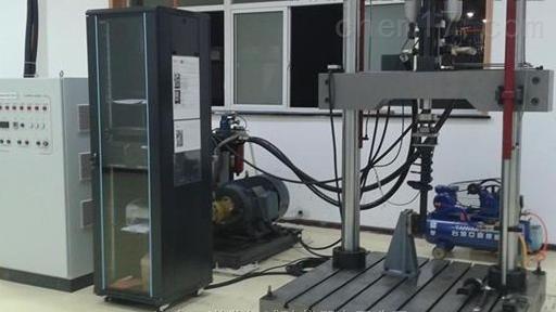 电液伺服高铁减震橡胶垫板疲劳试验机