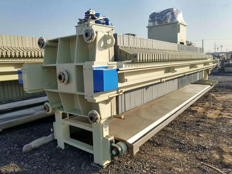 压滤机回收100平方京津自动拉板板框压虑机价格