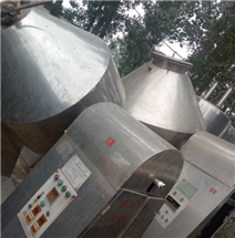 回收出售4立方二手不锈钢双锥干燥机