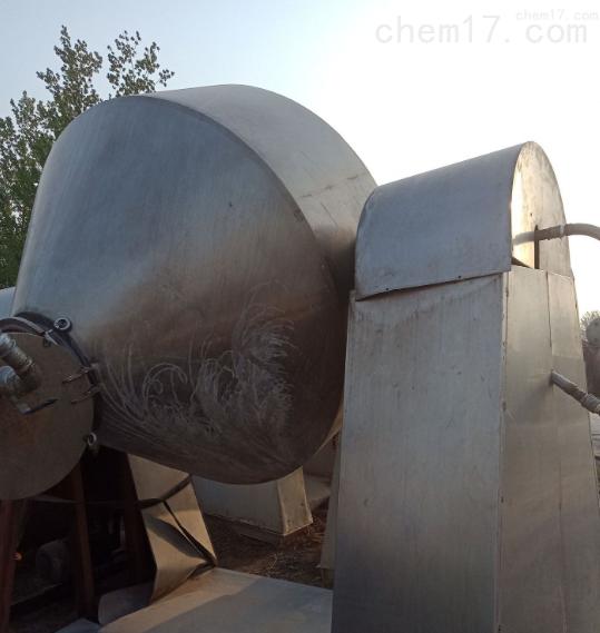 回收二手不锈钢双锥回转搪瓷双锥干燥机