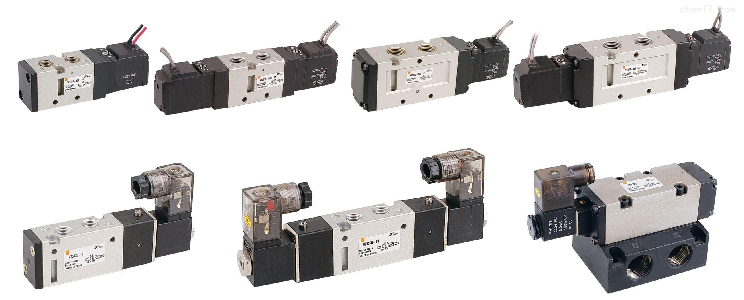 SMC VF3230-5GB-02二位五通电磁阀