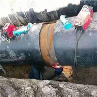 DN600直埋式保溫管熱力管道安裝檢測