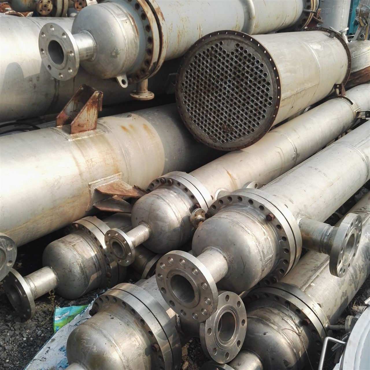 钛材质管壳式冷凝器型号价格