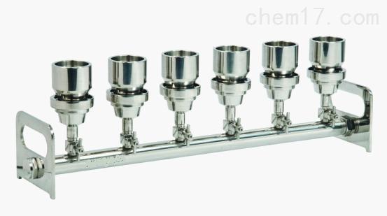 美国Science Tool BV631不锈钢六联过滤器