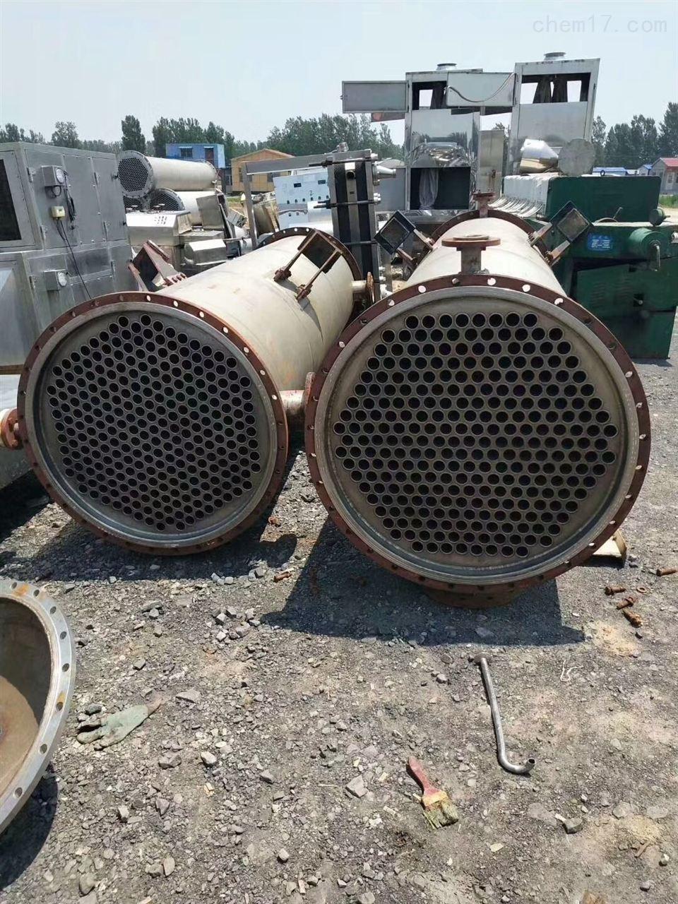出售回收40平方二手钛材质冷凝器