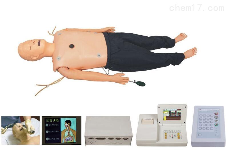 知能医学模型<strong>全功能心肺复苏急救模拟人</strong>