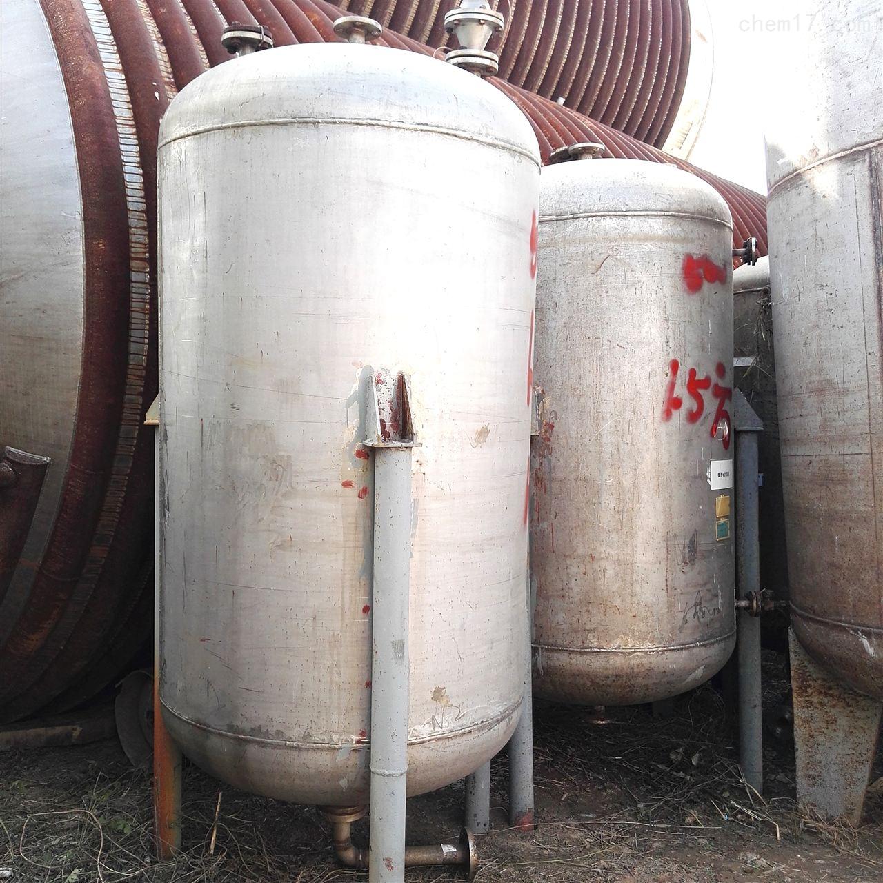 长期回收不锈钢储罐高价回收
