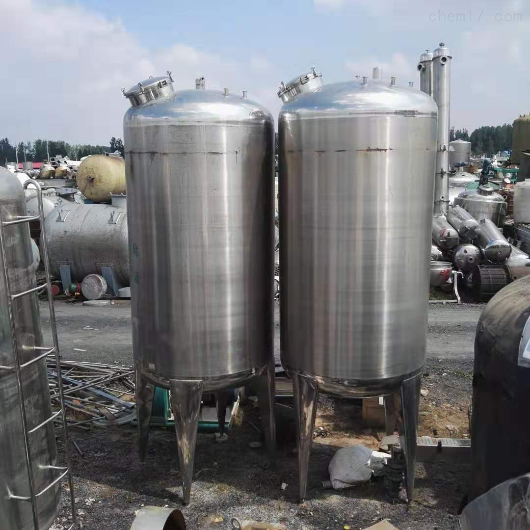 供应乳品厂40立方立式304不锈钢储罐