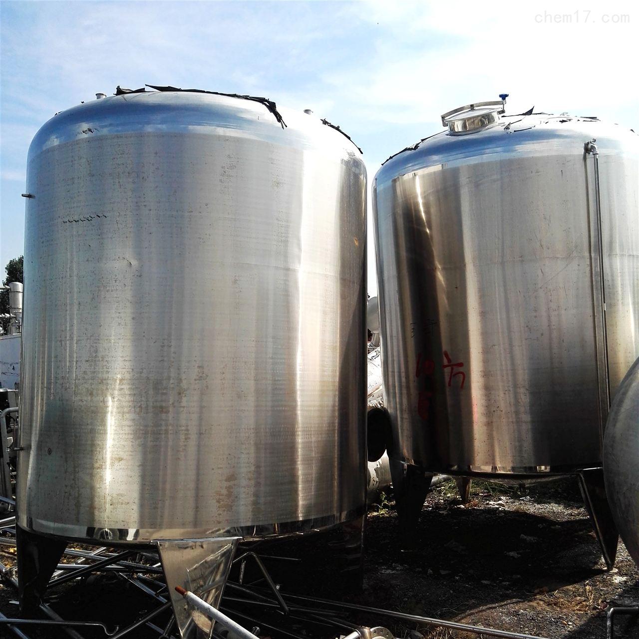 供应二手不锈钢储罐的公司