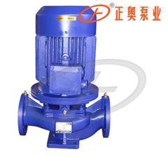 上海正奥ISG80-160型立式管道泵 铸铁清水泵
