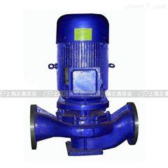 上海ISG125-200型立式離心泵 單吸管道泵