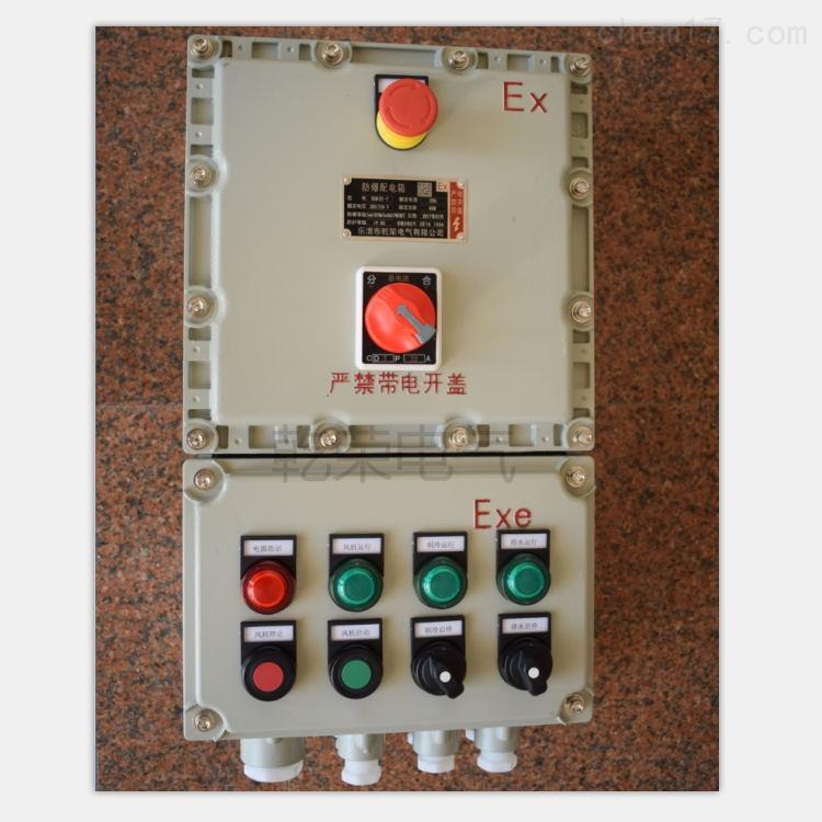 煤粒皮带防爆控制箱
