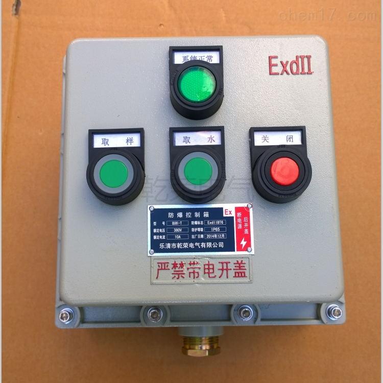 管道泵防爆控制按钮箱