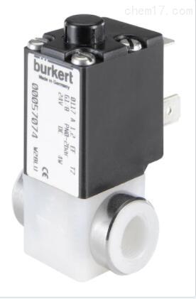 BURKERT压缩空气电磁阀,样本尺寸