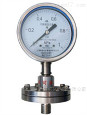 Y-150BFZML(316)Y-150BFZML(316)316全不锈钢法兰隔膜压力表
