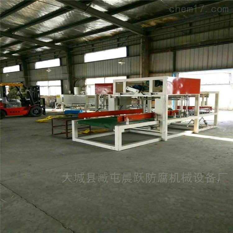 全自动新型A级防火匀质板切割机设备生产线