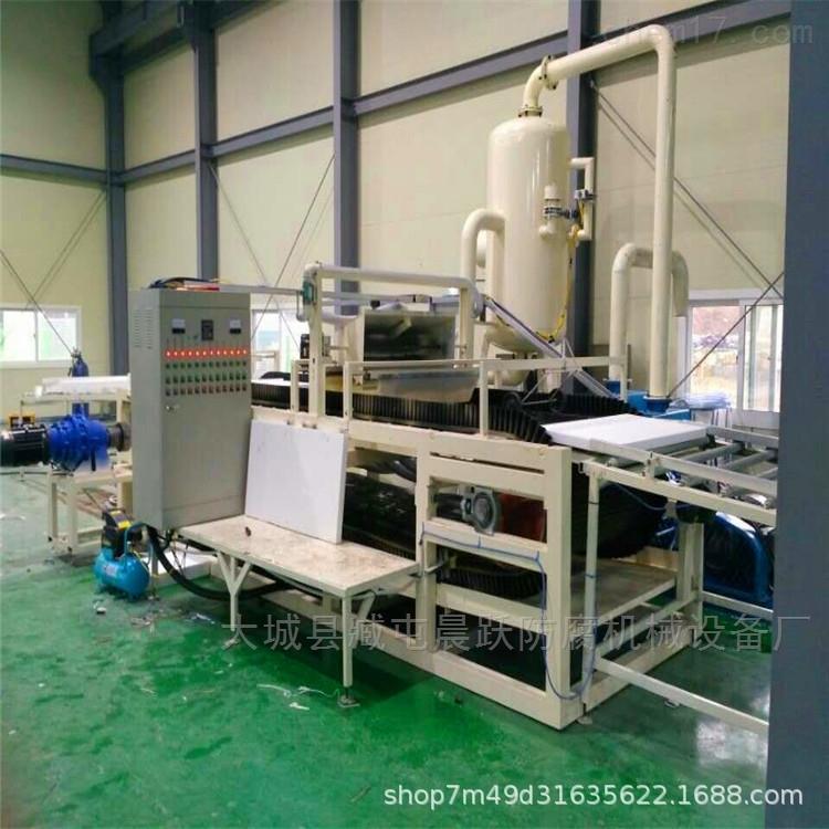 无机渗透硅质聚苯保温板设备自动生产线