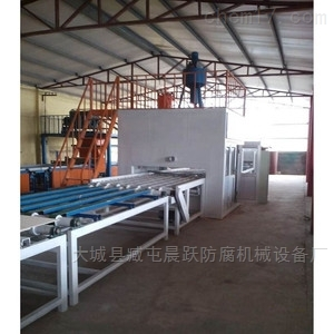 双面水泥砂浆岩棉板设备 岩棉复合板生产线