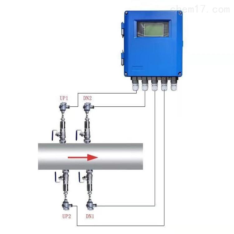 TDS-100R海峰DN50双声道插入式超声波热量表
