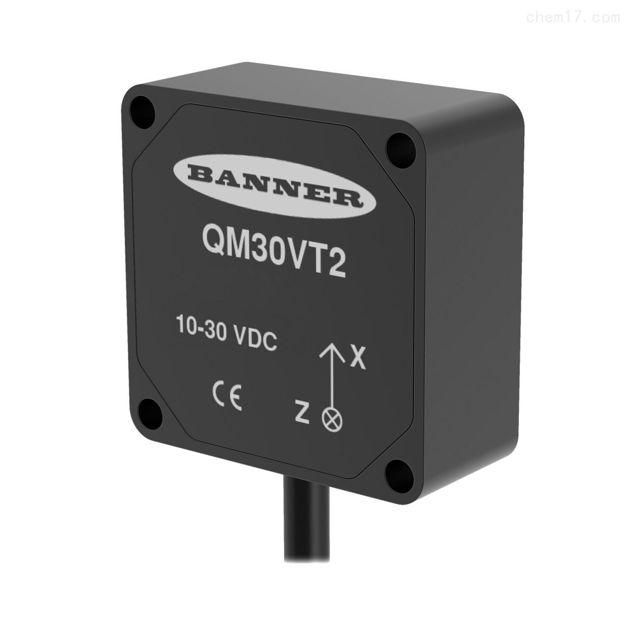 美国邦纳BANNER振动和温度传感器