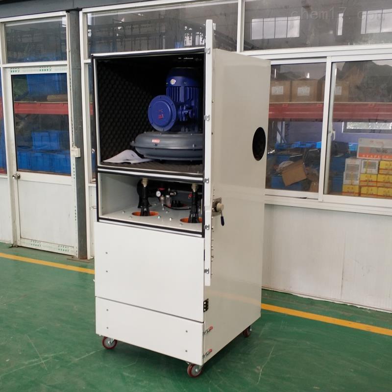 搅拌粉尘防爆工业除尘器 移动柜式集尘机