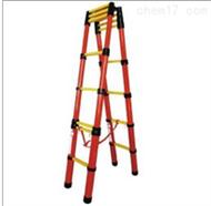 ST升降式紅管玻璃鋼絕緣人字梯