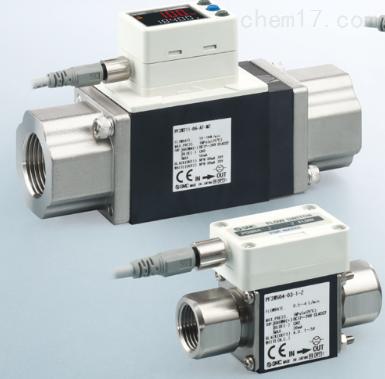 日本SMC新产品数字式流量传感器