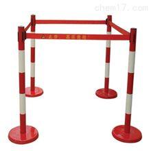 低价销售单带不锈钢伸缩围栏  单带全绝缘伸缩围栏  银行伸缩围栏