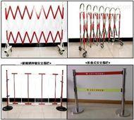 WL警示带围栏 不锈钢围栏 银行电力安全伸缩围栏