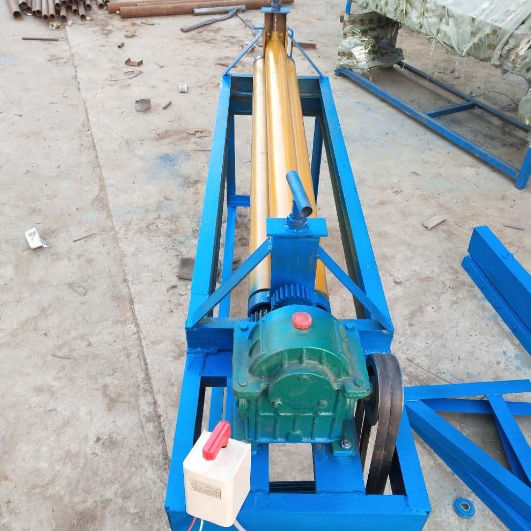 电动滚圆机成型设备卷板机压边一体机