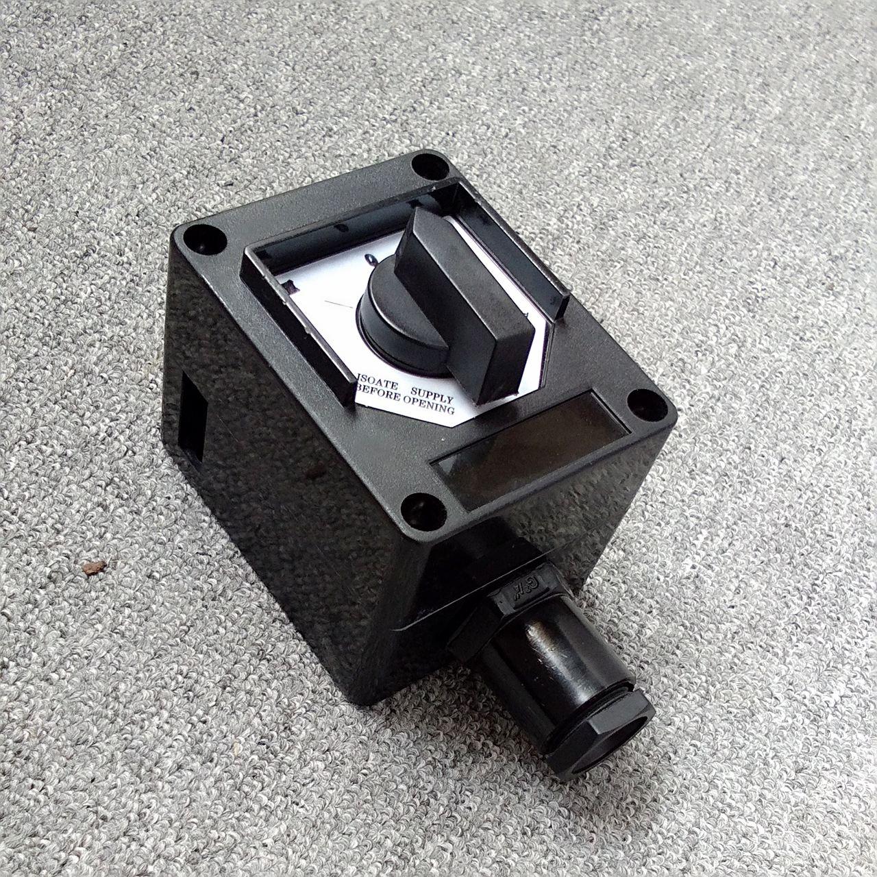 BZA8050-K1防爆密闭双极照明开关10A