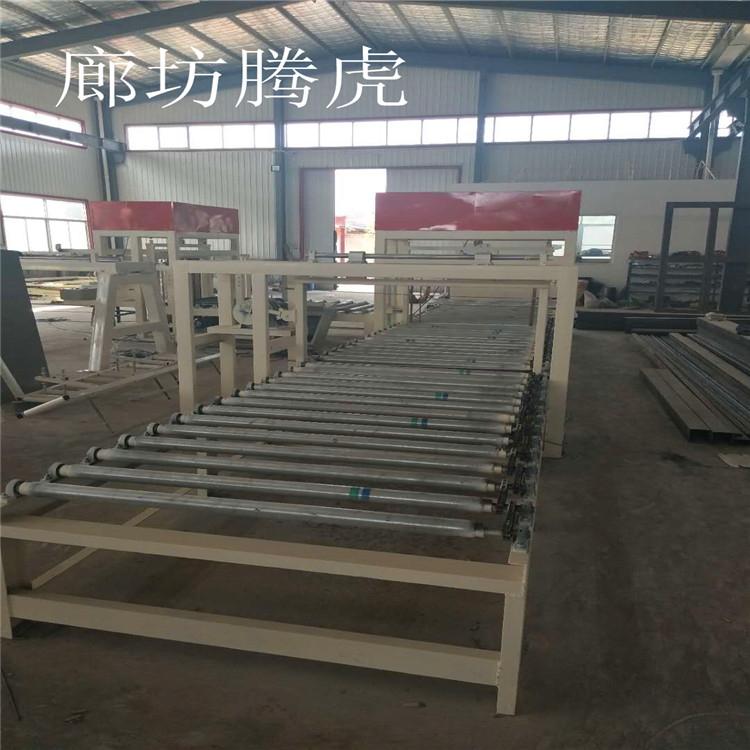 轻匀质板设备结构合理运行平稳