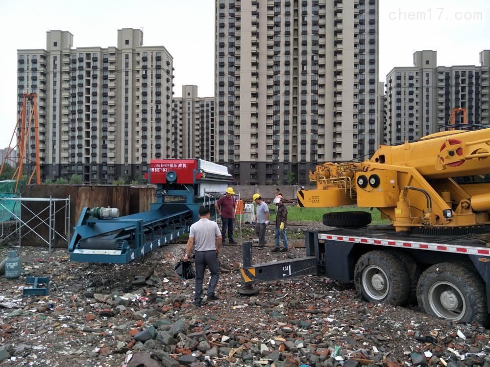 施工工地泥浆处理设备污泥固化处理工艺设备