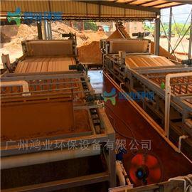 脱水设备机制沙泥水干堆机 沙石厂泥浆固化设备